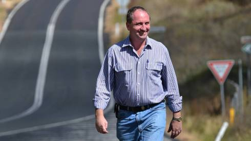 HITTING THE ROAD: Nationals candidate for New England Barnaby Joyce has forums in 29 towns and villages over the next three weeks. SOURCE: The Northern Daily Leader
