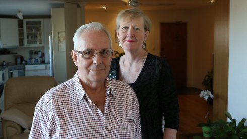 Adrian Duffy emerged from a quintuple heart bypass only to find his wife's $20,000 Suncorp account empty because the bank gave it to the government. PIC: David Kelly Source: The Courier-Mail