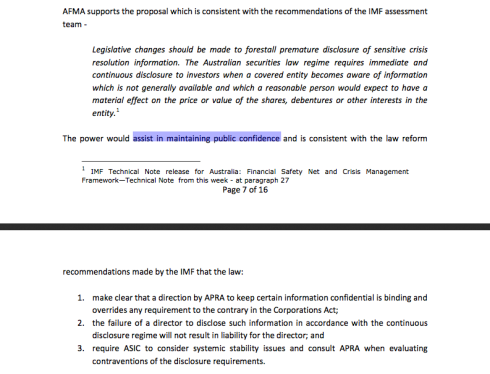 AFMA, letter to Australian Treasury, January 2013, pp 7-8 (click to enlarge)