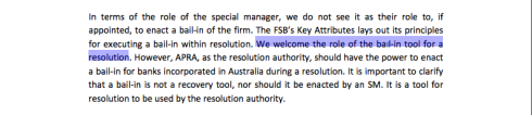 AFMA letter to Australian Treasury, 11 January 2013, page 5 (click to enlarge)