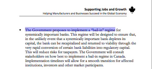 Canada Budget 2013 Economic Action Plan, March 21, 2013, page 145 (click to enlarge)