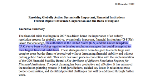 FDIC and BoE: Resolving Globally Active, Systemically Important, Financial Institutions, December 2012 (click to enlarge)