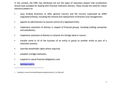 Australian Treasury, Strengthening APRA's Crisis Management Powers, September 2012, page 5 (click to enlarge)
