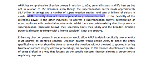 Australian Treasury, Strengthening APRA's Crisis Management Powers, September 2012, page 34 (click to enlarge)