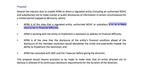 Australian Treasury, Strengthening APRA's Crisis Management Powers, September 2012, page 29 (click to enlarge)