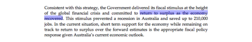 August Economic Statement, page 29 (click to enlarge)