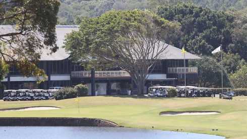 Clive Palmer's Coolum Resort. Source: The Sunday Mail (Qld)